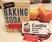 CanDo Braille Labels: Baking Box Labels
