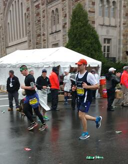 Past NBP Runner Rich Gilreath running the Marathon